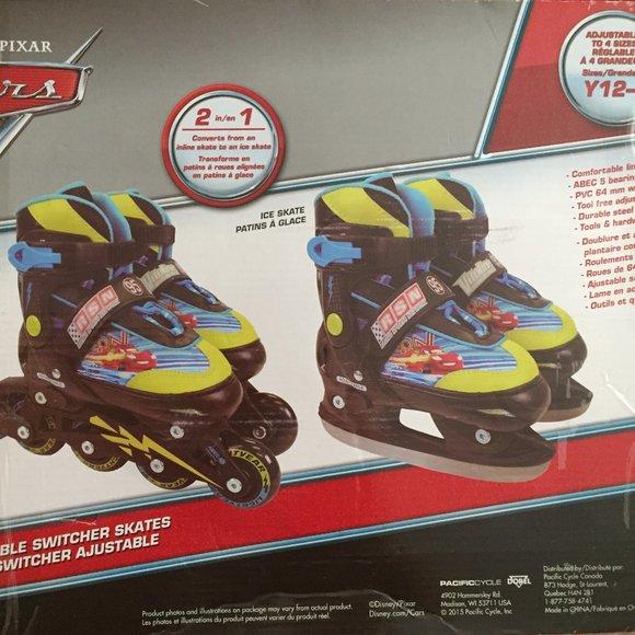 2 in 1Adjustable Switcher Rollerblades/ Ice Skates